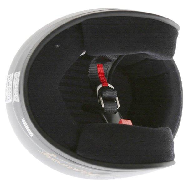 Arai Freeway 2 Black Open Face Motorcycle Helmet Inside