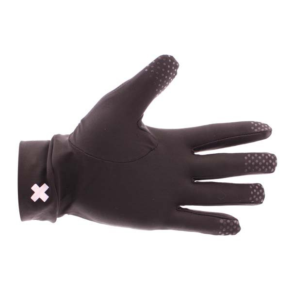 Frank Thomas Black Inner Gloves Palm