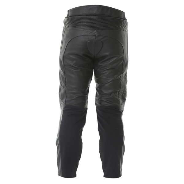 Frank Thomas FTL306 Panther Black Leather Motorcycle Jeans Rear