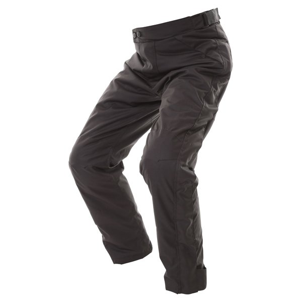 Frank Thomas FTW322 Eclipse Mens Black Textile Motorcycle Over Trousers Riding position
