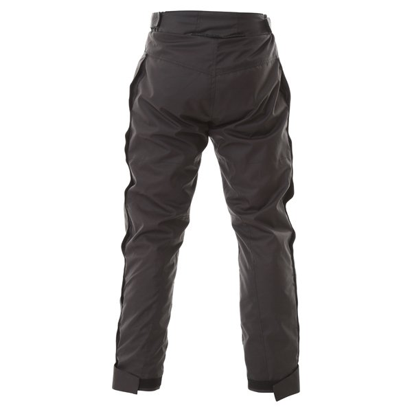Frank Thomas FTW322 Eclipse Mens Black Textile Motorcycle Over Trousers Rear