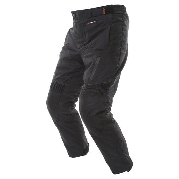 Frank Thomas FTW347 Tourino Aquatec Mens Black Waterproof Textile Motorcycle Pants Riding position