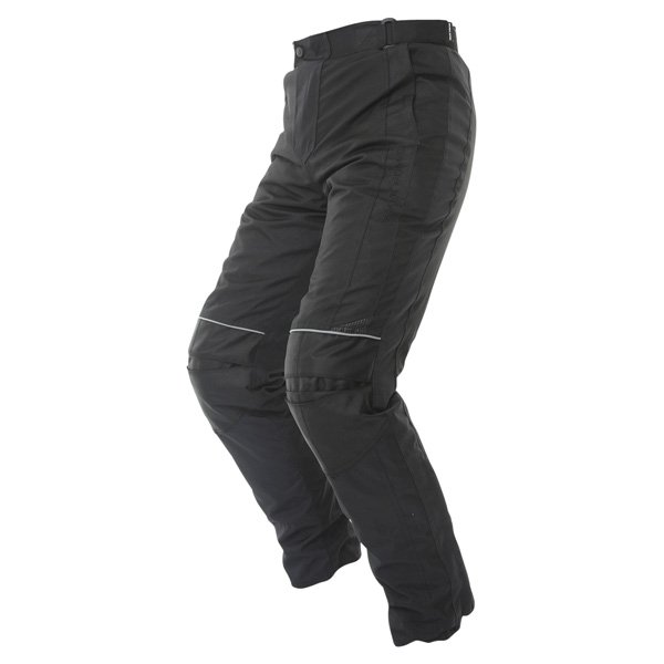 Frank Thomas FTW351 Full Force Mens Black Waterproof Textile Motorcycle Trousers Riding position