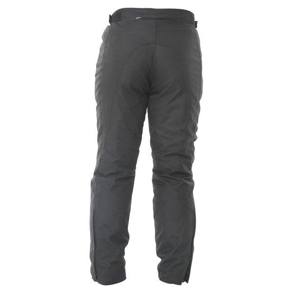 Frank Thomas FTW351 Full Force Mens Black Waterproof Textile Motorcycle Trousers Rear