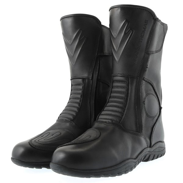 H20326 Tempest Ride Boots Black Motorcycle Boots