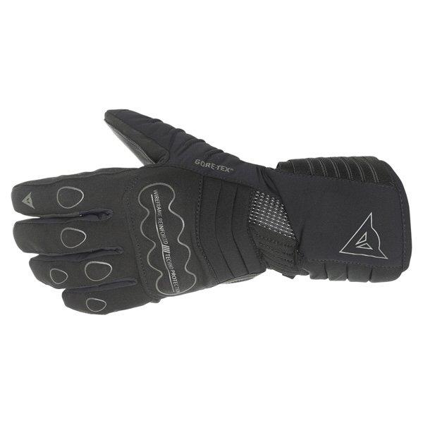 Dainese Scout GoreTex Black Waterproof Motorcycle Gloves Back
