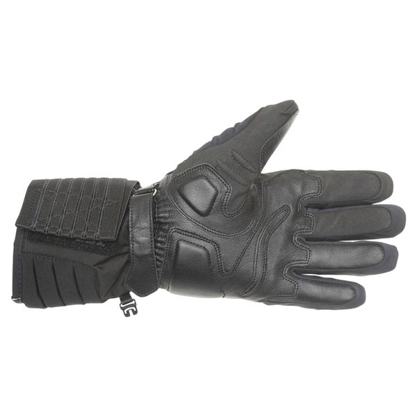 Dainese Scout GoreTex Black Waterproof Motorcycle Gloves Palm