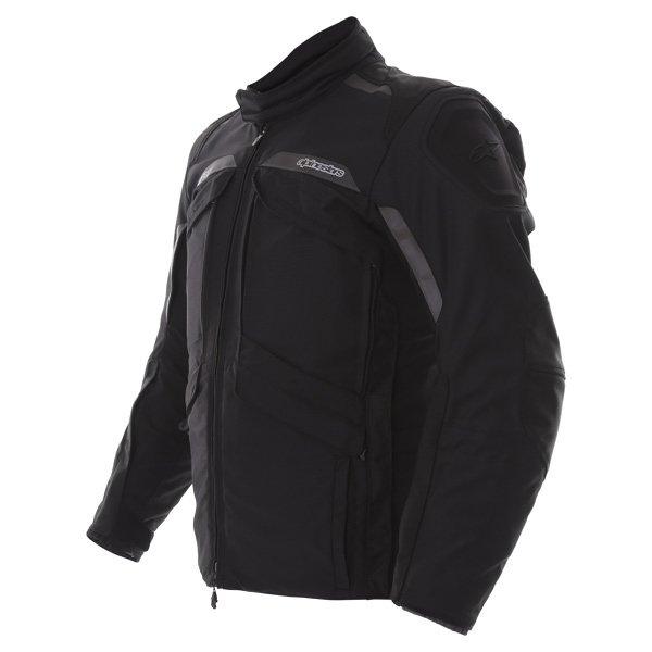 Alpinestars Frontier Mens Black Goretex Waterproof Textile Motorcycle Jacket Side
