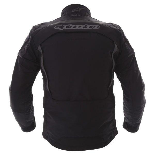 Alpinestars Frontier Mens Black Goretex Waterproof Textile Motorcycle Jacket Back