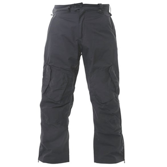 Armadillo Mens Black Summer Textile Motorcycle Trousers Front