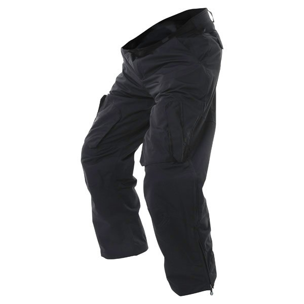 Armadillo Mens Black Summer Textile Motorcycle Trousers Riding position