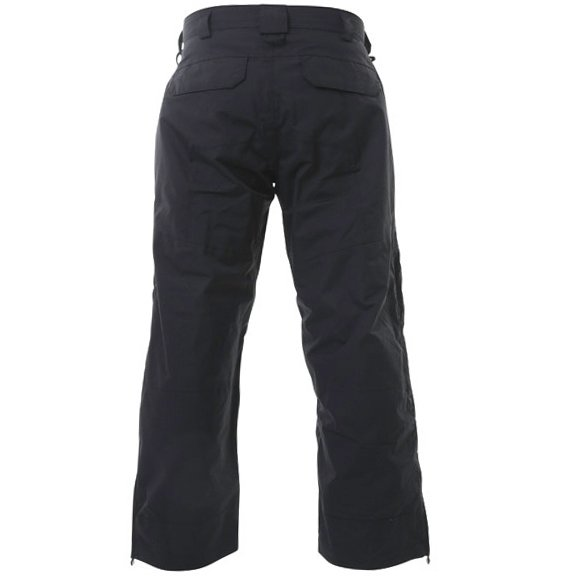 Armadillo Mens Black Summer Textile Motorcycle Trousers Rear