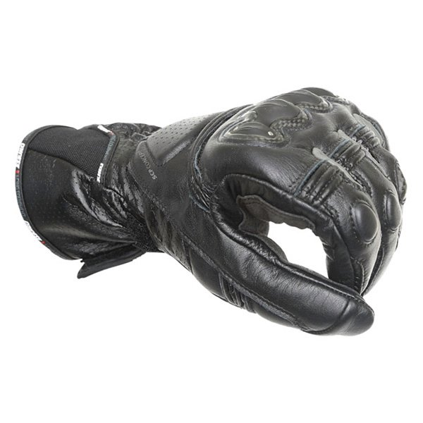 Dainese Pro Carbon Black Motorcycle Gloves Knuckle
