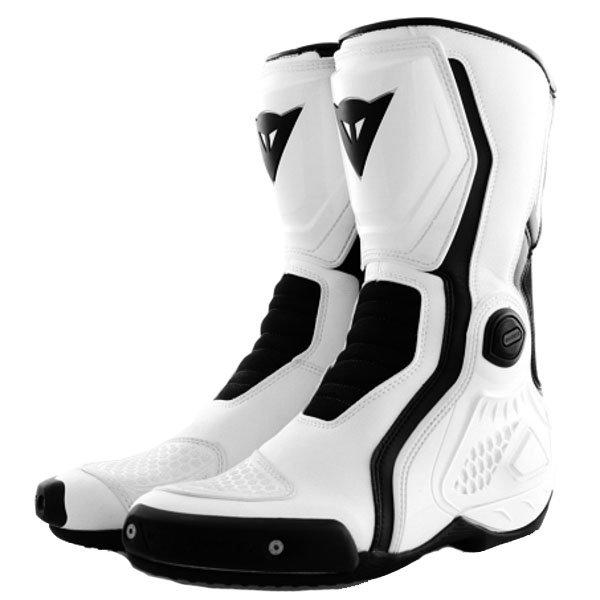 Dainese Giro-ST White Black Motorcycle Boots Pair