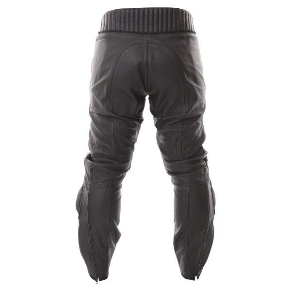Dainese Alien Black Leather Motorcycle Jeans Rear
