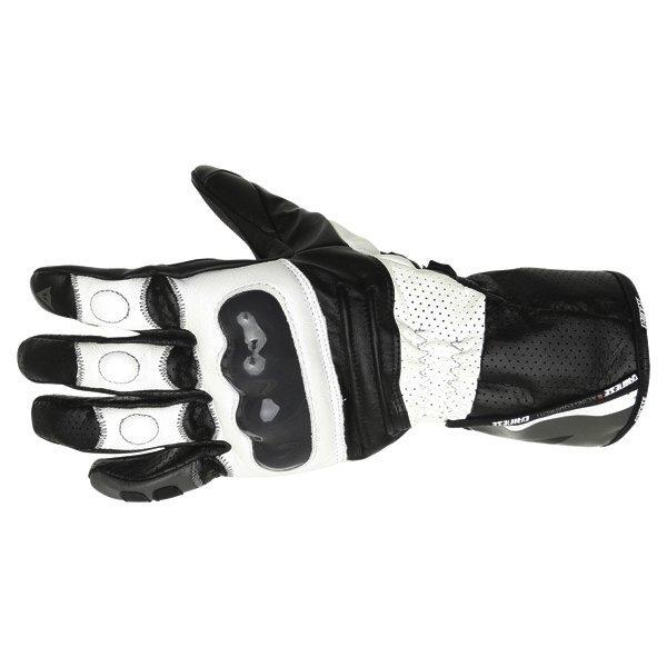 Redgate Gloves White Black Dainese