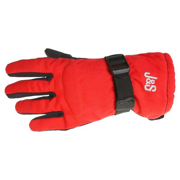 Boy Racer 5033W Gloves Black Red Kid's Clothing