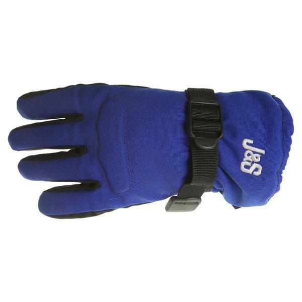 Boy Racer 5033W Gloves Black Blue J&S Clothing