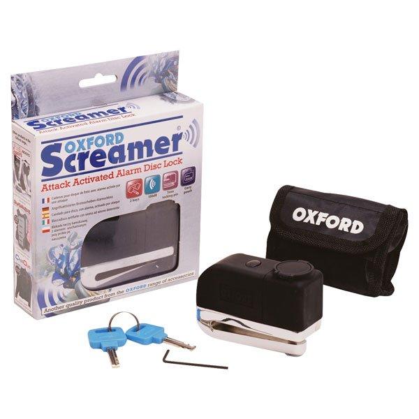 Oxford Products Screamer Alarm Disc Lock Screamer Alarm Disc Lock